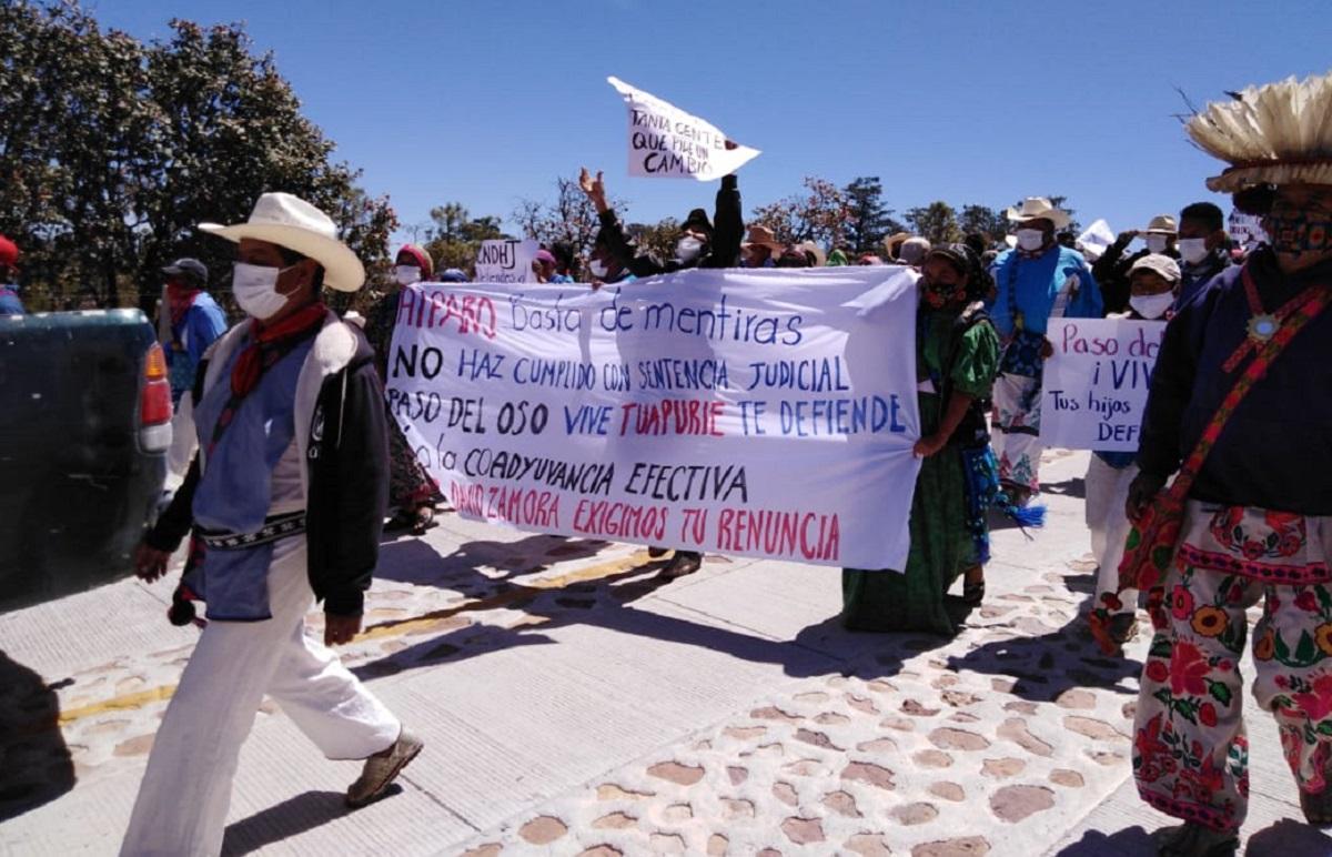 Tuapurie Protesta - Fotografía Croníca de Hoy Jalisco 2021
