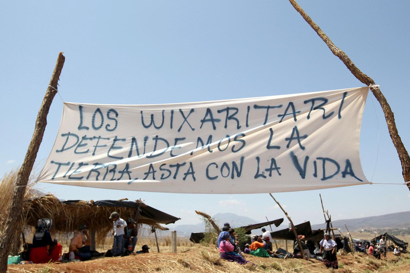 Anuncian este grupo indígena que cerrará escuelas y carreteras. Foto: AFP