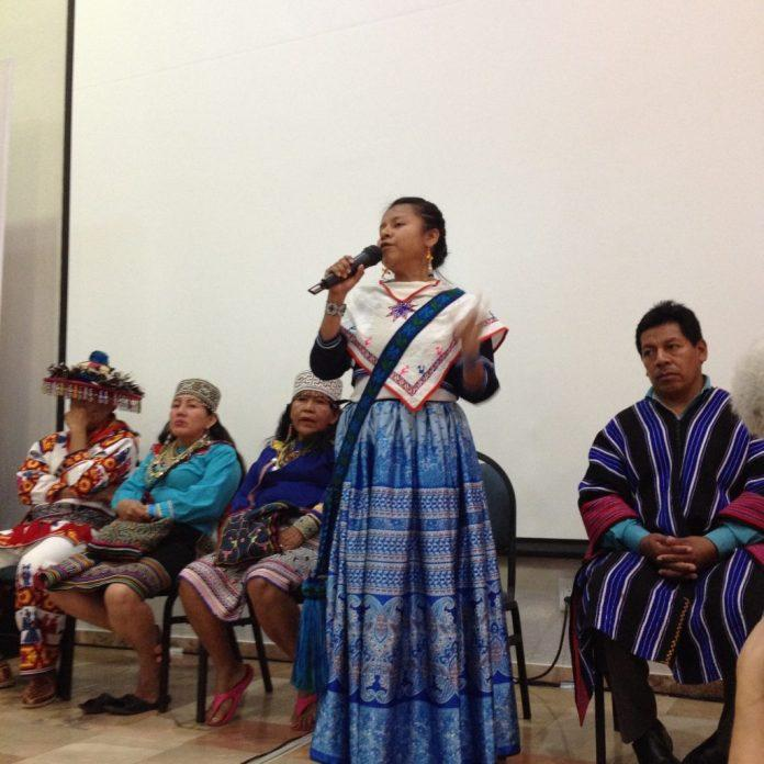 Closing of Sacred Plants in the Americas Conference. Photo Courtesy Chacruna Archives, 2018.