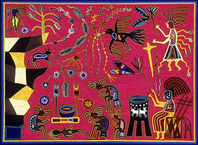 Takutsi Tamatsi Kauyumarie Steal the Rain-bowl and the Arrows - Tutukila Carrillo Sandoval 1973