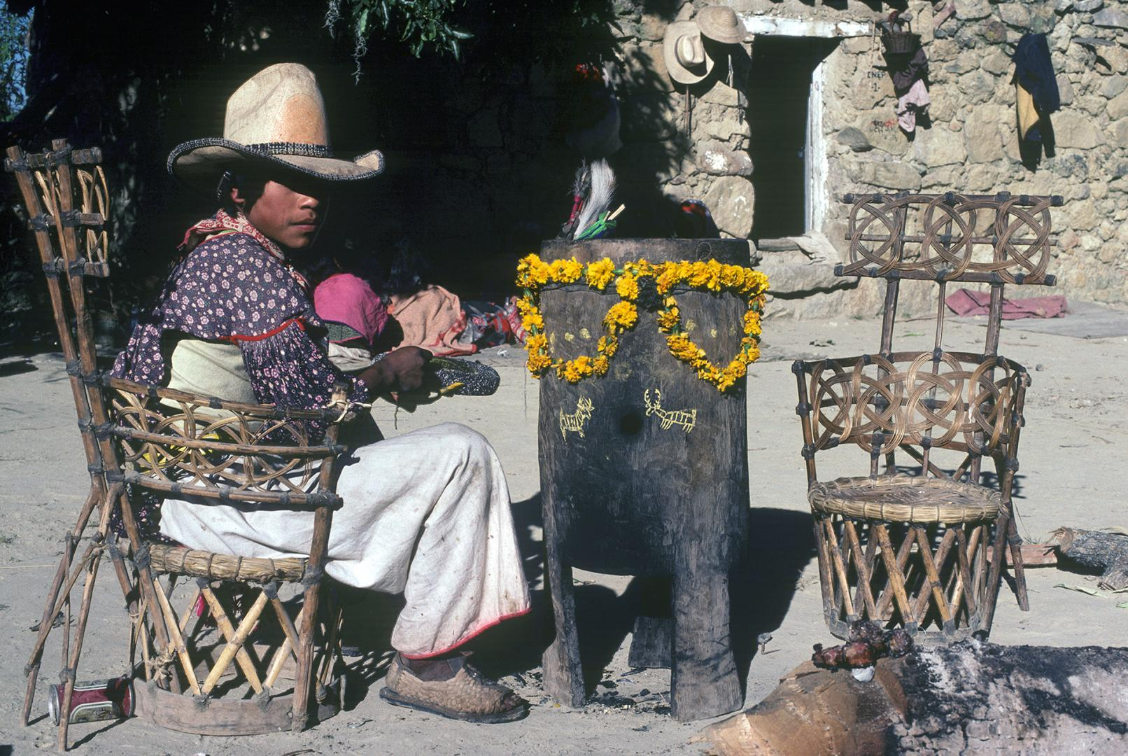 Ceremony of Tatei Neixa - Photograph ©Juan Negrín 1981 - 2018