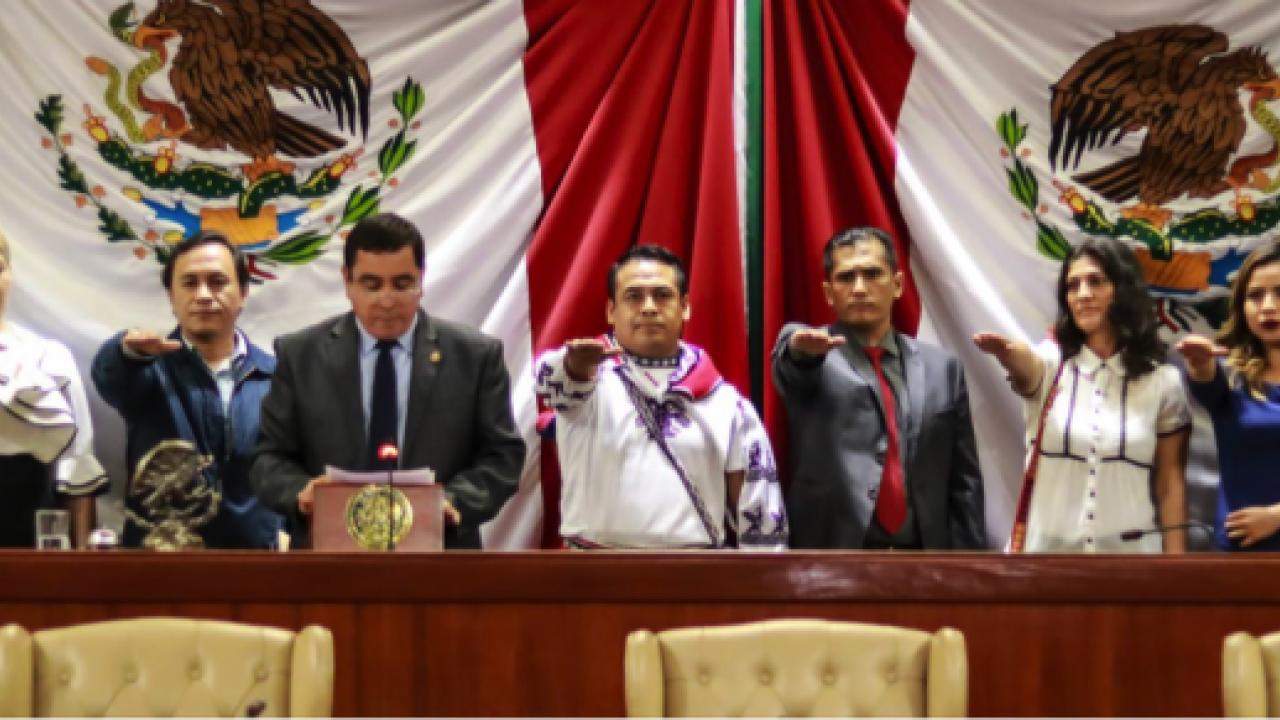 Maximino Muñoz toma su cargo - NTV Nayarit