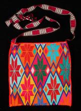 Embroidered shoulder bag, kutsiuri - Photograph ©Yvonne Negrín 2018