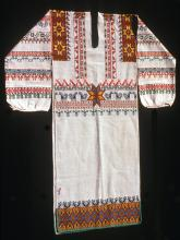 Man's embroidered shirt (kutuni). Photograph ©Yvonne Negrín 2003 - 2018