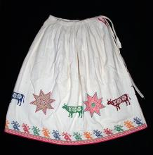 Girl's embroidered skirt - Photograph ©Yvonne Negrín