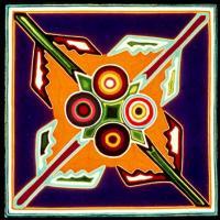 Four Aspects of the Spirit - José Benítez Sánchez 1973 - .60 x .60 meters