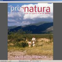 Cover of Newsweek's Pronatura - December 2011 Supplement