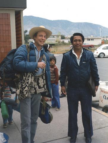 Tutukila Carrillo Sandoval & Juan Negrín 1975 ©Yvonne Negrín